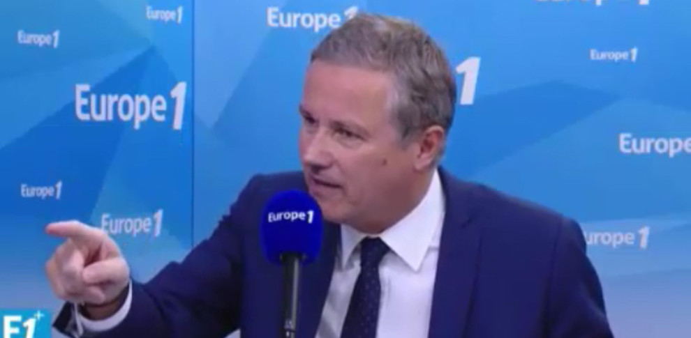"Nicolas Dupont-Aignan sur Europe 1: ""Nous donnons 8 milliards à l'UE pour financer nos concurrents"""