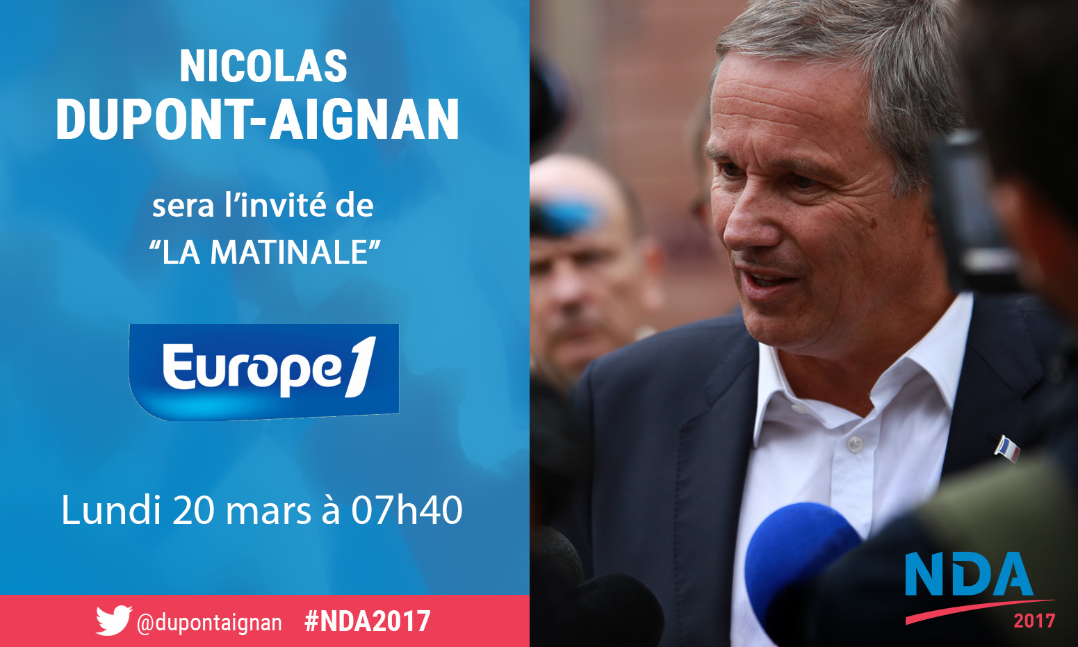 NDA invité d'Europe 1