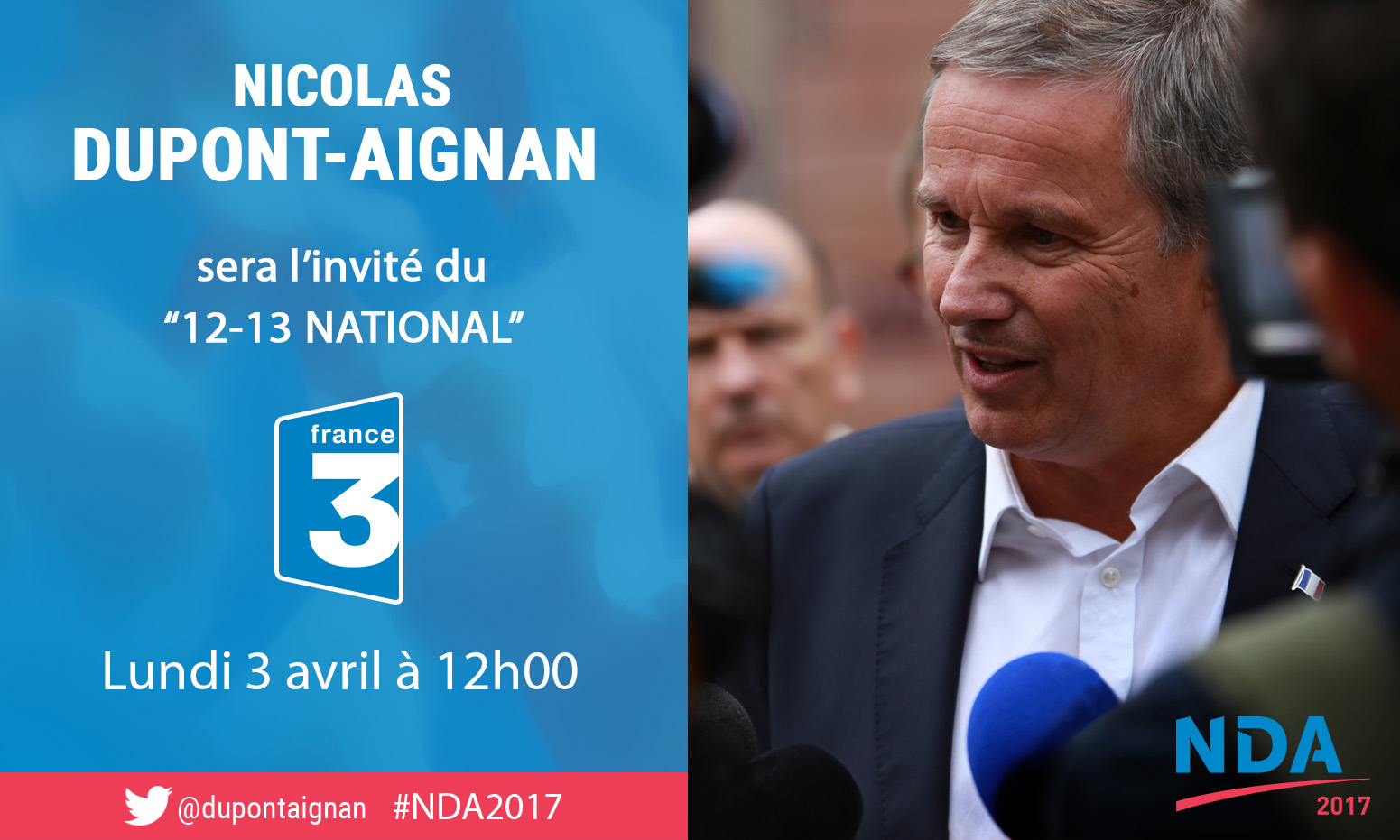 NDA invité de France 3