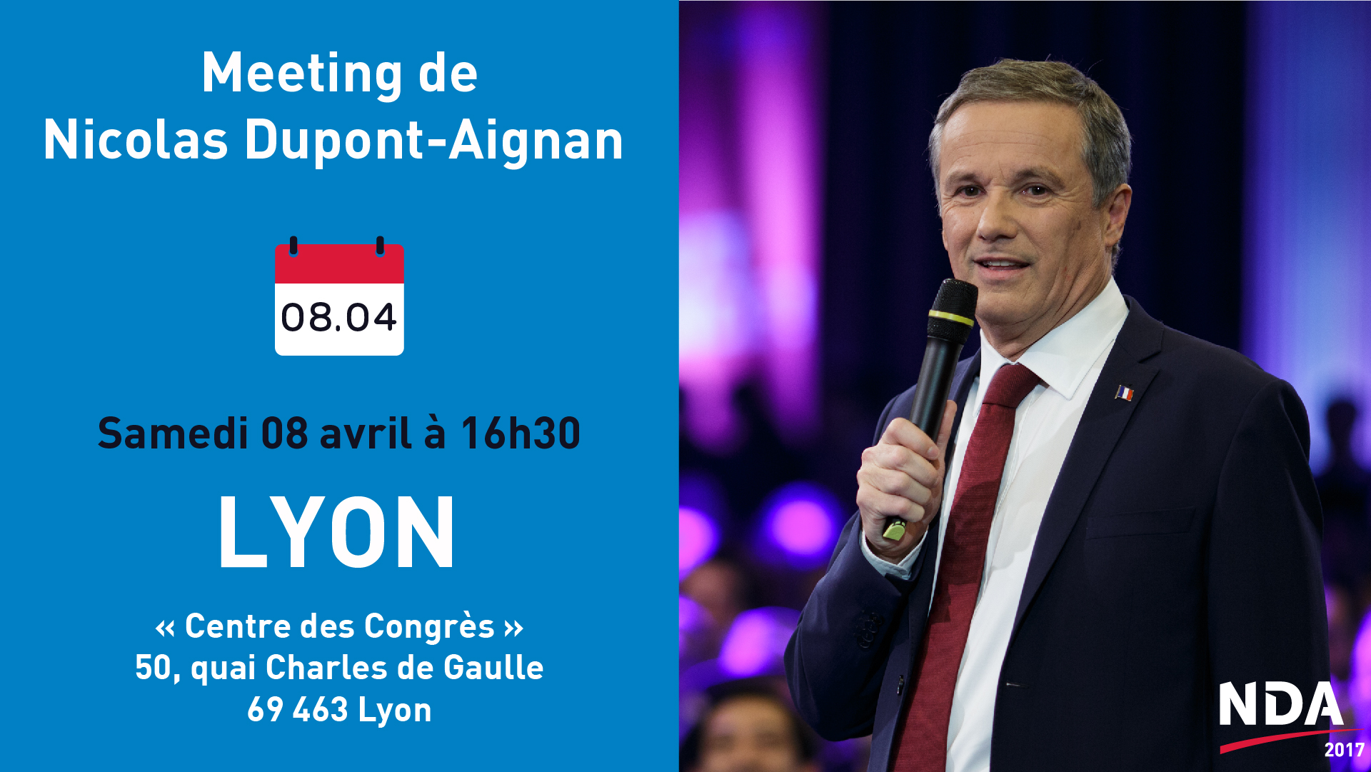 Meeting de NDA à Lyon